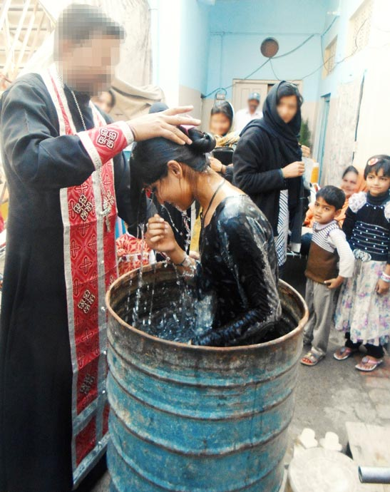 The Baptism of Kainut
