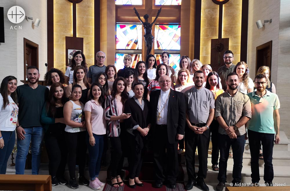 "The ""Good Samaritan course for trauma healing project"" is another initiative of the Catholic Charity and Pontifical Foundation Aid to the Church in Need (ACN) supports the local Churches in assisting those suffering in Syria."