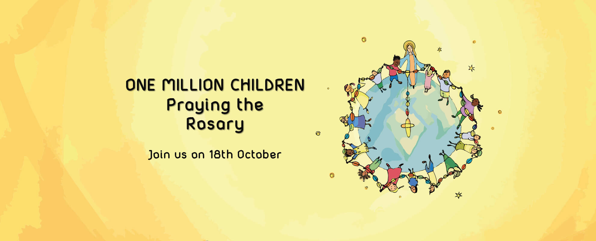 One Million Kids praying the Rosary