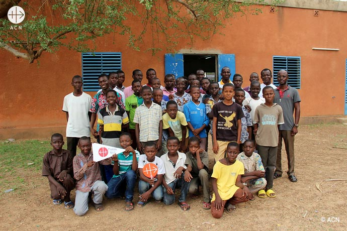 The pontifical foundation ACN supported more than 60 projects in Burkina Faso