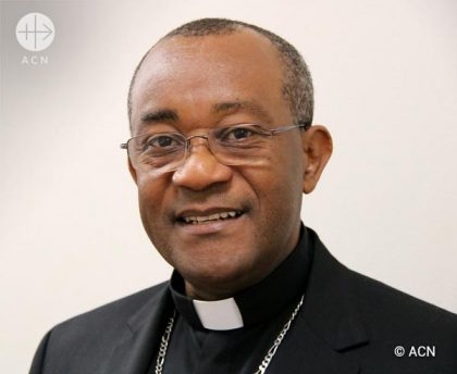 Mgr. Launay Saturné ( Archbishop of Cap-Haitien, Haiti and president of the Haitian Bishop´s Conference)