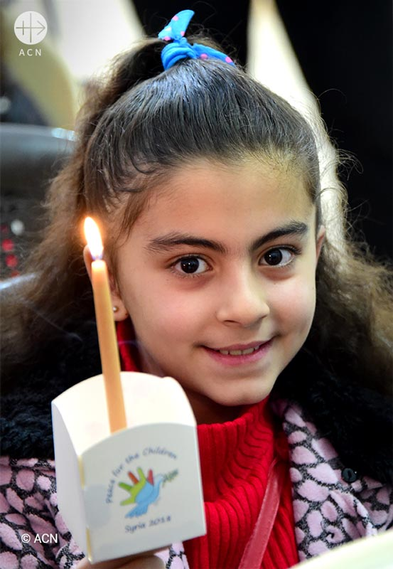 Light a Candle for Pease in Syria