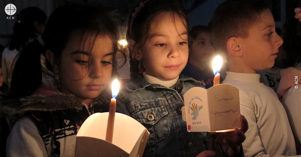 ACN focuses its worldwide Christmas campaign on the plight of Syrian Christians