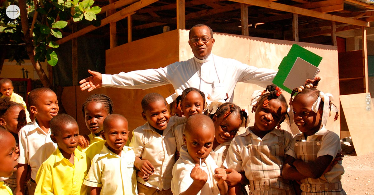 """What Haiti needs is a 'new man' who lives a Christian life in today's society"""