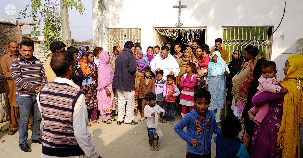 """Pakistán: """"Los cristianos son una comunidad muy pobre, en condiciones de semi esclavitud"""", asegura Mons. Arshad"""