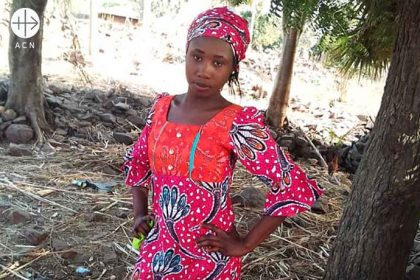 Leah Sharibu is a 15-year old Nigerian girl. She was abducted when Boko Haram stormed a boarding school in the town of Dapchi, Diocese of Maiduguri in north-eastern Nigeria on 19th February 2018 kidnapping 110 school girls..