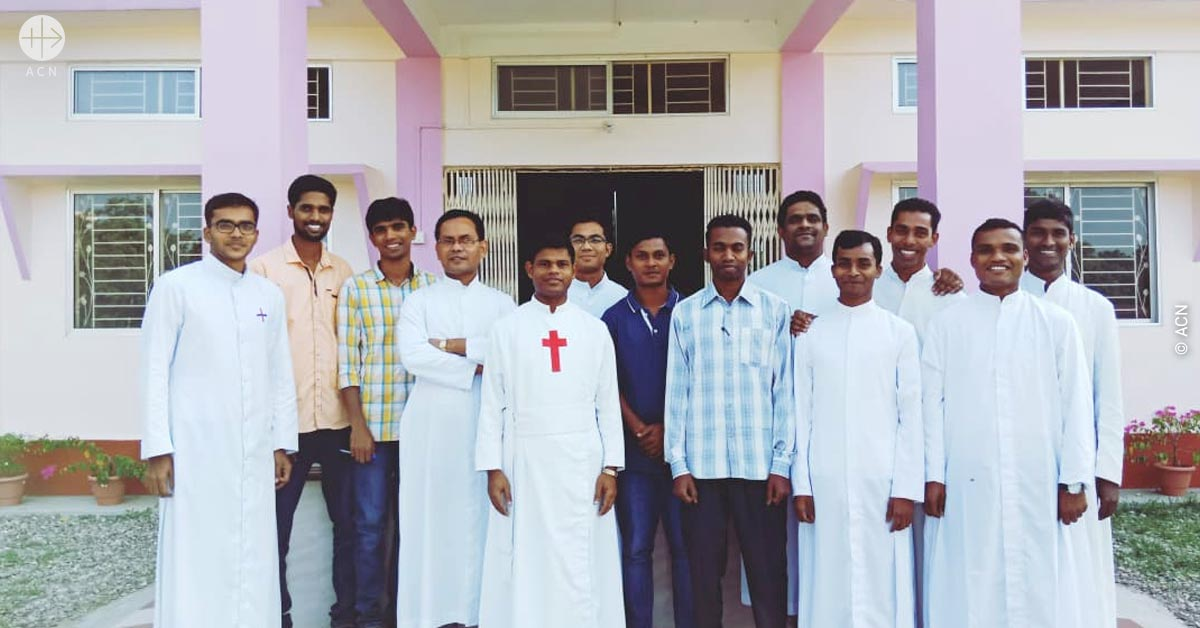 Help for the training of 23 seminarians in the diocese of Bongaigaon in India
