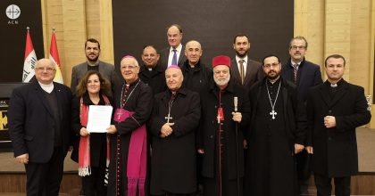 Iraq: Christian leaders call for more support for the Christians of Nineveh
