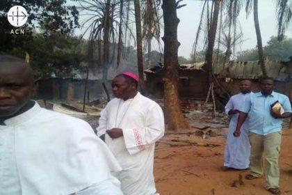 Bischof Cyr-Nestor Yapaupa von der Diözese Alindao in der Zentralafrikanischen Republik.