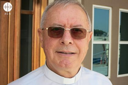 Bishop Paul Hinder, Apostolic Vicar Southern Arabia.