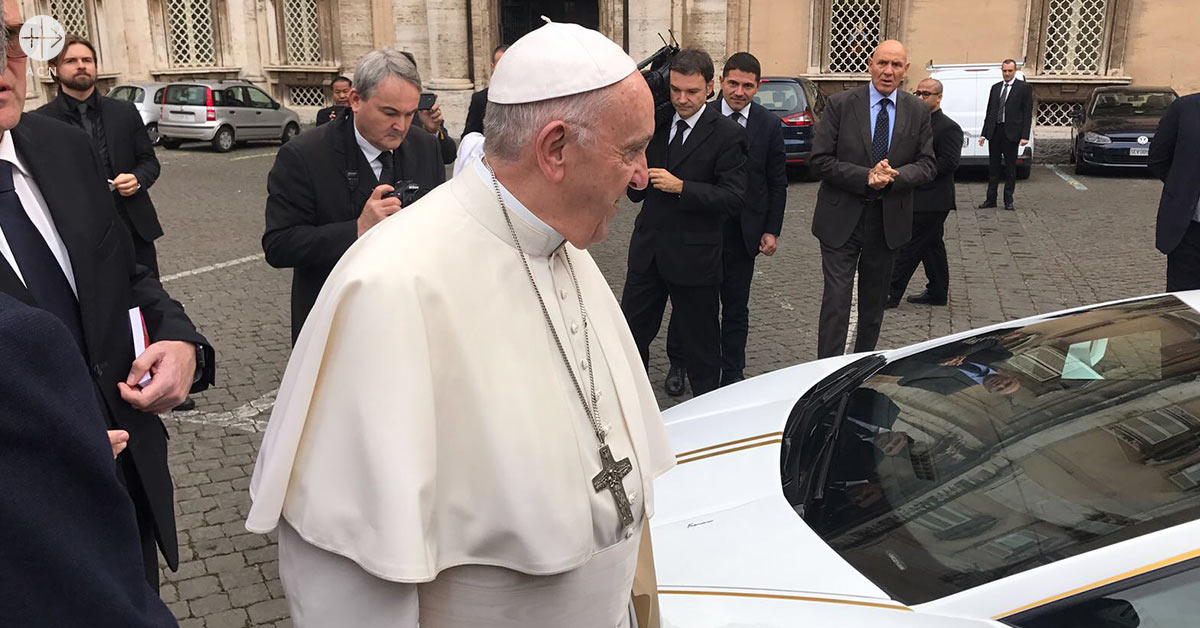 "ACN to ""convert"" the Lamborghini donated by the Pope into a nursery school and a centre for Christians in the Nineveh region"