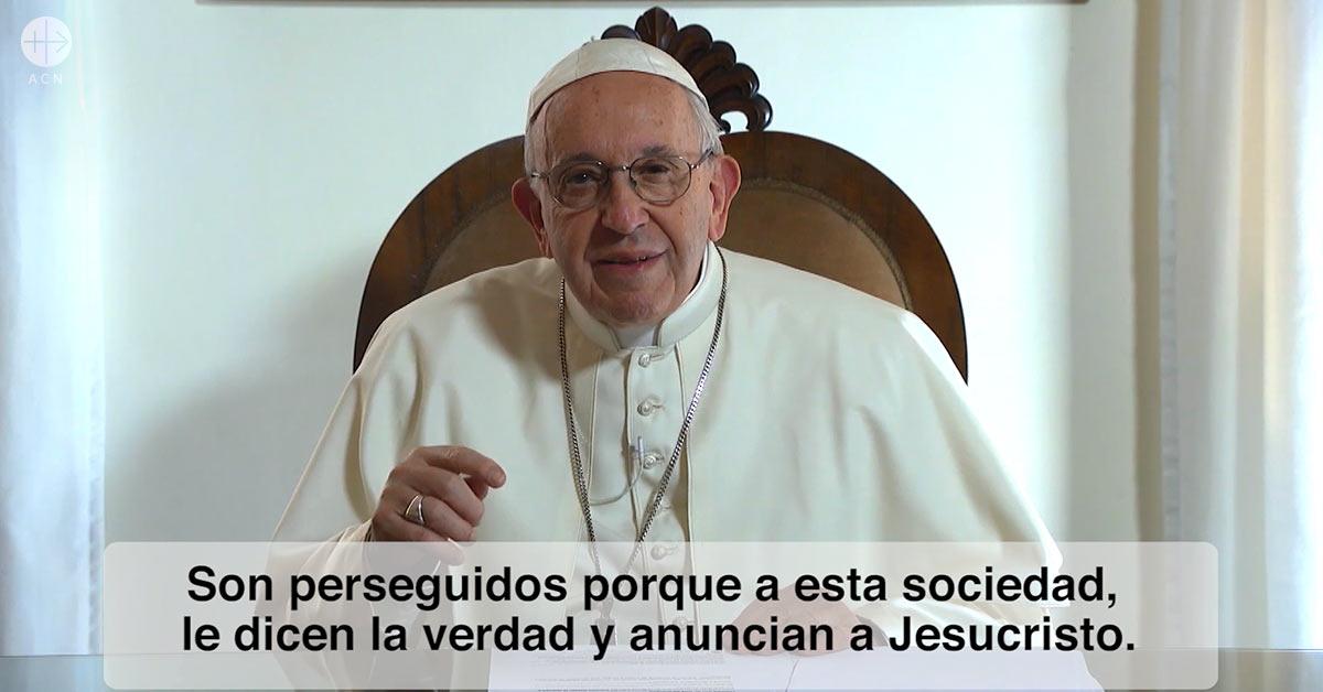 ACN patrocina el video del Papa Francisco para rezar por las personas perseguidas por la fe