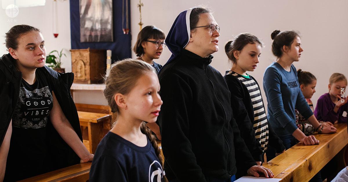 Campaña de Cuaresma y Pascua 2019 de ACN sobre religiosas. Un testimonio de Kazajistán