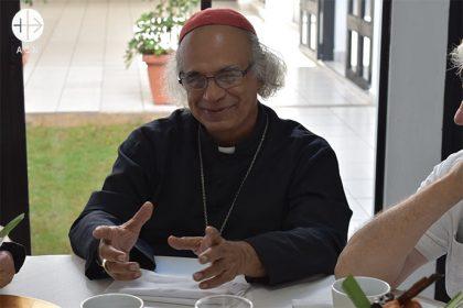 Cardinal Leopoldo José Brenes Solórzano, diocese of Managua in Nicaragua.