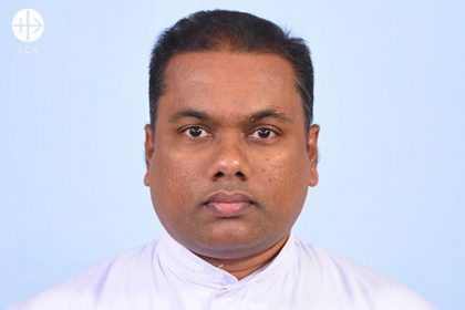 Fr. Malaka Leonard Fernando, Minister Provincial of the Vice Province of our Lady of Lanka, Sri Lanka, of the Third Order Regular Franciscans.