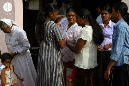 After Sunday Mass, Diocese of Anuradhapura , Sri Lanka, May 2010.