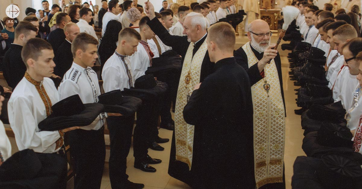 Ukraine: Help for the formation of 213 seminarians in the diocese of Ivano-Frankivsk