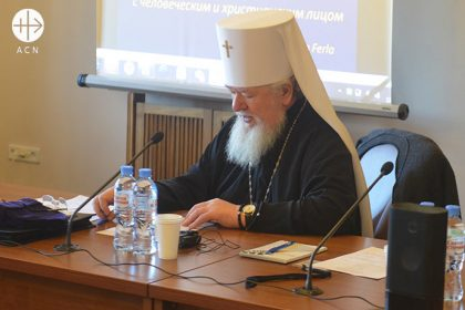 in November 2018, in Moscow, Catholic and Orthodox experts and Church representatives met together to exchange ideas and experiences and identify and discover ways of better ministering pastorally to the psychologically sick.