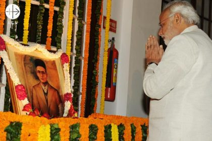 El Primer Ministro indio Narendra Modi: