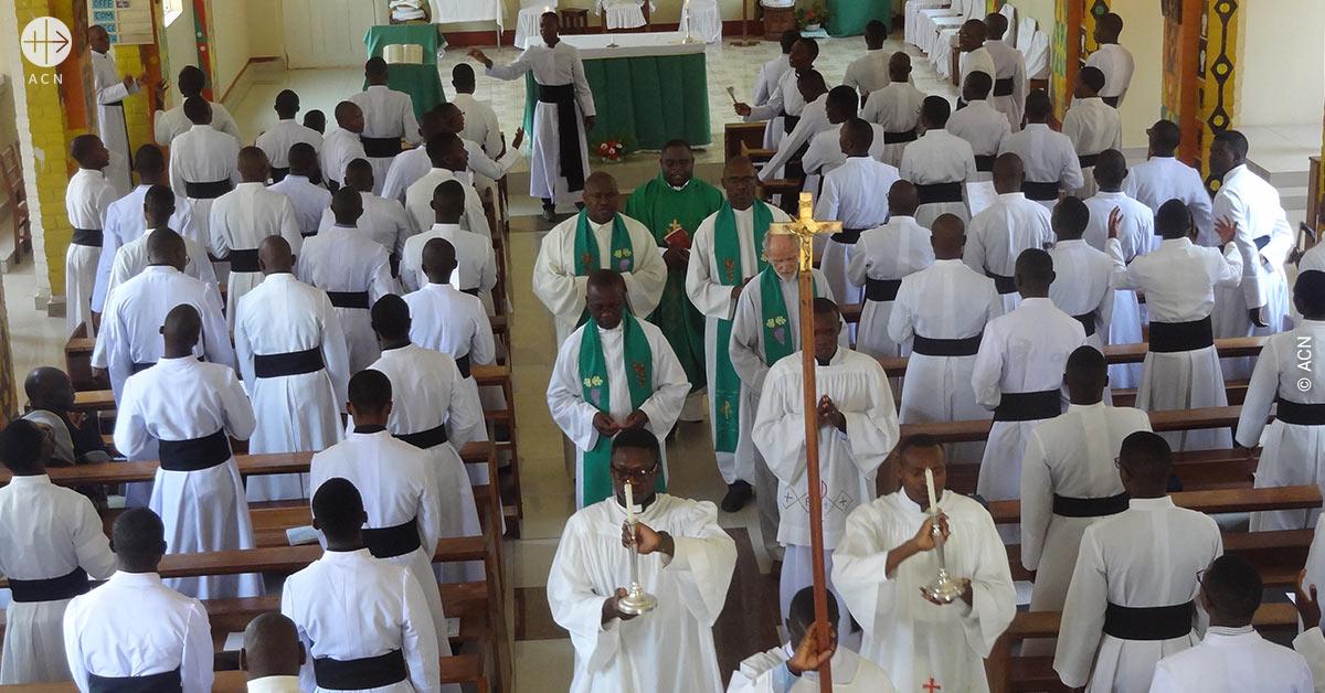Zambia: Obras de renovación en el seminario mayor de San Agustín