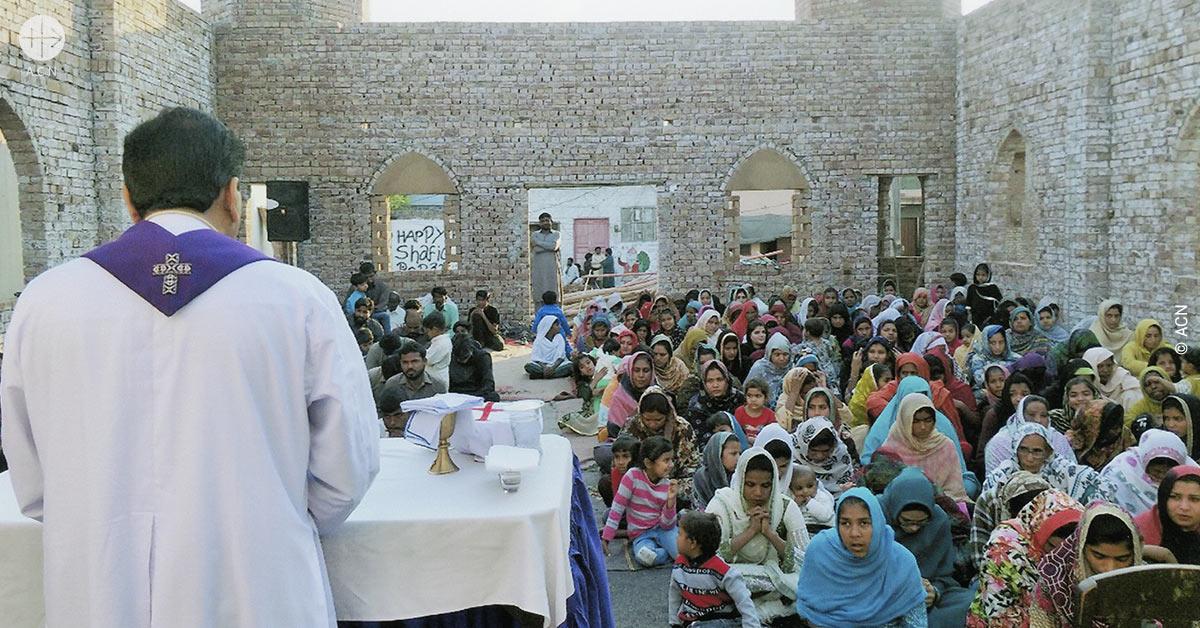 Pakistán: Ayuda para la puesta a punto de una iglesia en Issanagri