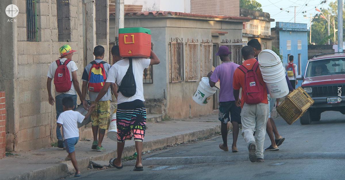 "Cardinal Porras: ""Venezuela is suffering from a wartime economy"""