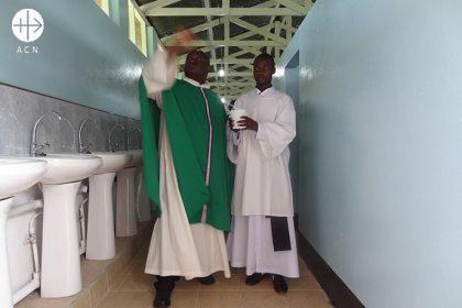 Zambia: Obras de renovación en el seminario mayor de San Agustín.