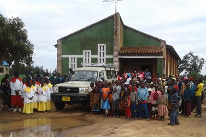 ACN was able to contribute 24,700 Euros so that the parish could obtain a robust all-terrain vehicle.