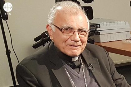 Cardinal Baltasar Porras,apostolic administrator of Caracas and Archbishop of Mérida (Venezuela).