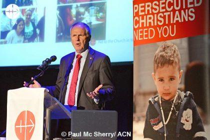 Neville Kyrke-Smith, director de la sede británica de ACN.