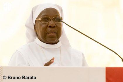 La hermana Marie Catherine Kingbo.