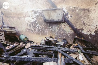 """""""18 villages were attacked and burned down, 65 persons were killed and 9000 displaced, 15 Churches, two primary schools and a health care centre were also destroyed."""""""