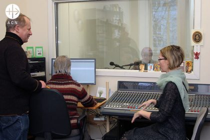 """ACN regularly supports the work of Radio """"Mazoji Studija"""", and is doing so again this year with a contribution of 15,000 Euros."""