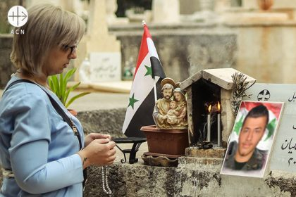 Syria: a mother, her son killed in the war, finds strength in her faith: 'our roots must be planted in God'.
