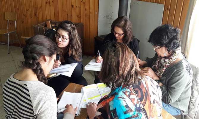 Formazione di 21 insegnanti di religione nel vicariato di Aysen, in Cile.
