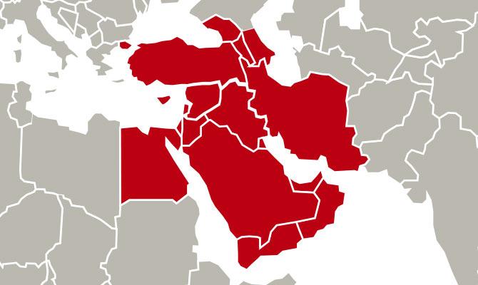 Oriente Médio.