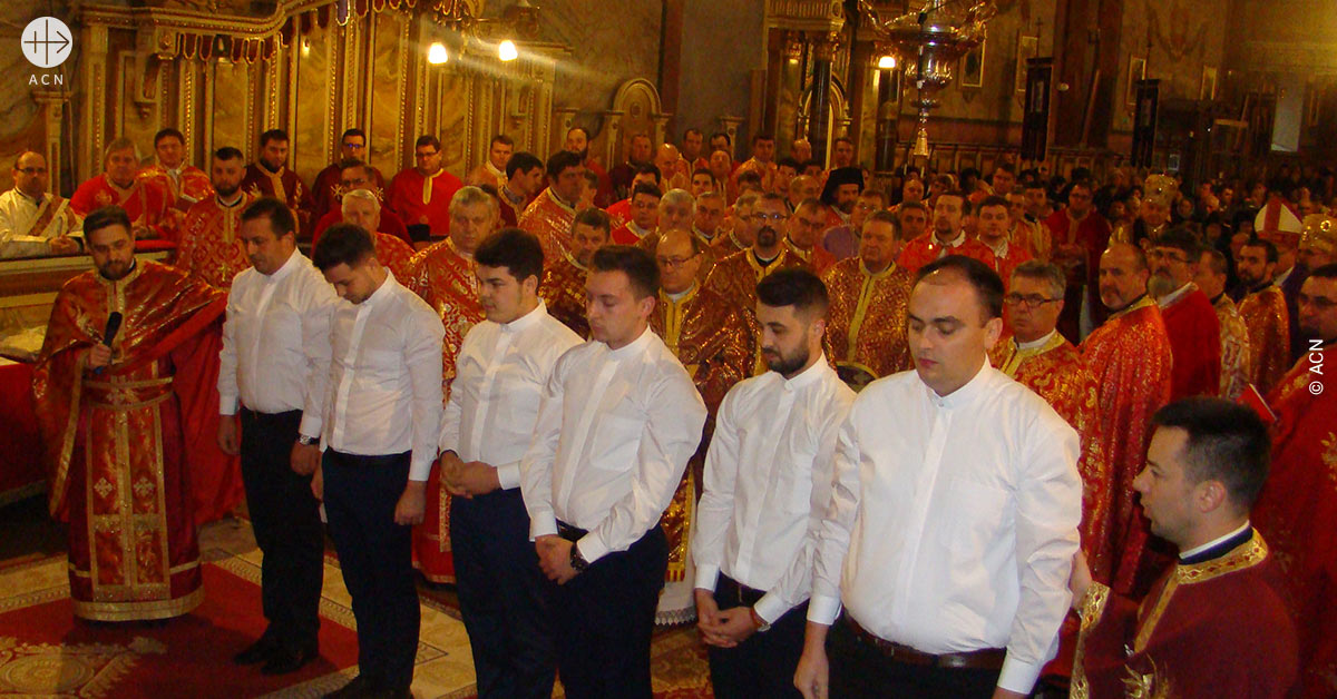 Romania: Support for 50 for seminarians in Oradea