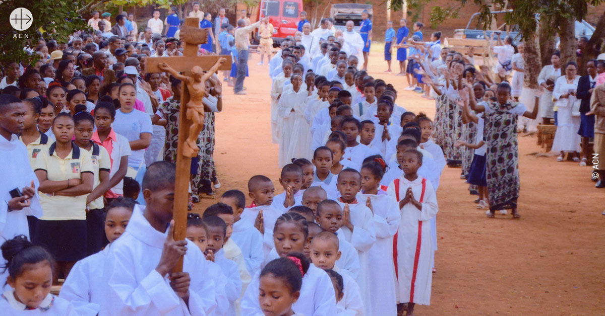 ACN accompanies Pope Francis' visit to Madagascar by supporting projects for the local church