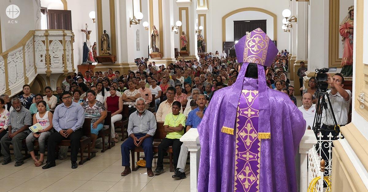Obispos de Nicaragua convocan una semana de oración por la paz