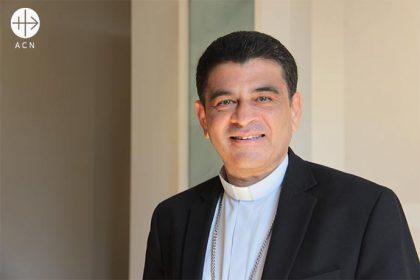 Mons. Rolando José Álvarez, obispo de Matagalpa.