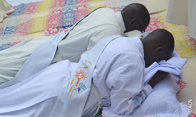 Priestly ordination in the Diocese of Kabale.