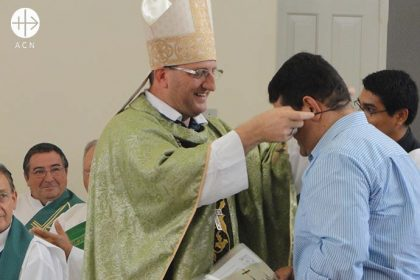 Mgr Neri José Tondello is Bishop of the diocese of Juína, in the state of Mato Grosso, Brazil.