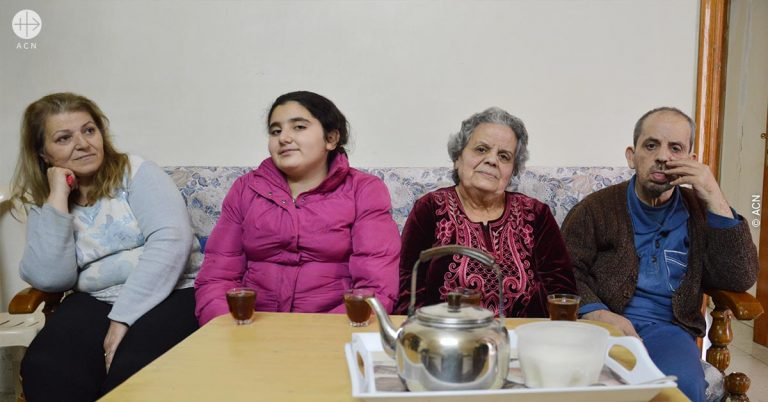 """""""We didn't want to leave our home, but the roof fell in on us, so we had no choice"""""""