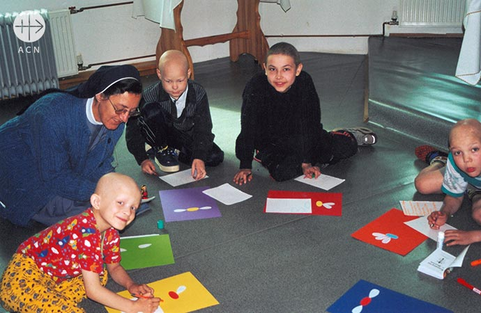 Support for the life and ministry of 63 religious sisters in the diocese of Saint Joseph, Irkutsk, Russia