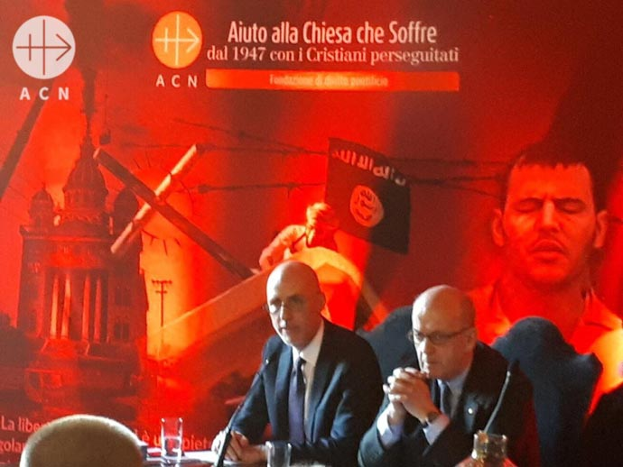 ACN Launch and Press Conference of the Religious Freedom Report 2018 in Rome
