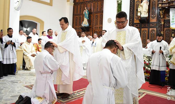Ordination in Matagalpa.