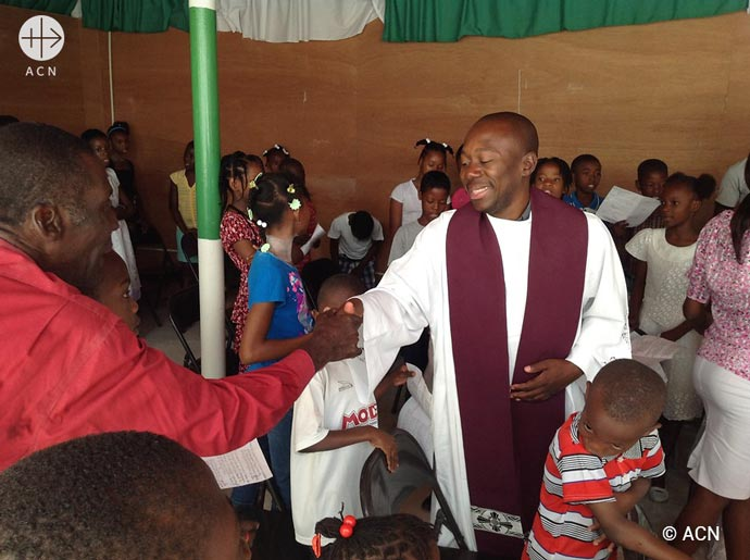 We are a people who practise our faith. The churches are full and the clergy accompany people to help them live a Christian life and live their faith on a daily basis