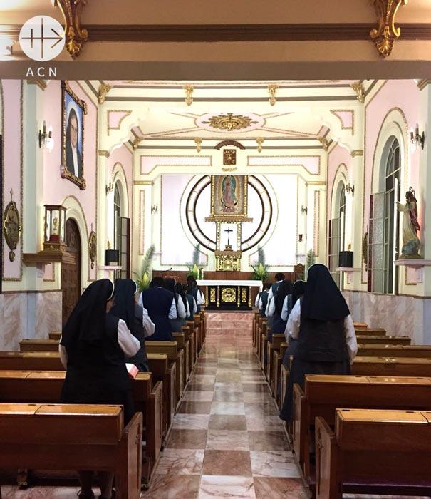 the convent of the sisters Misioneras Clarisas del Santísimo Sacramento