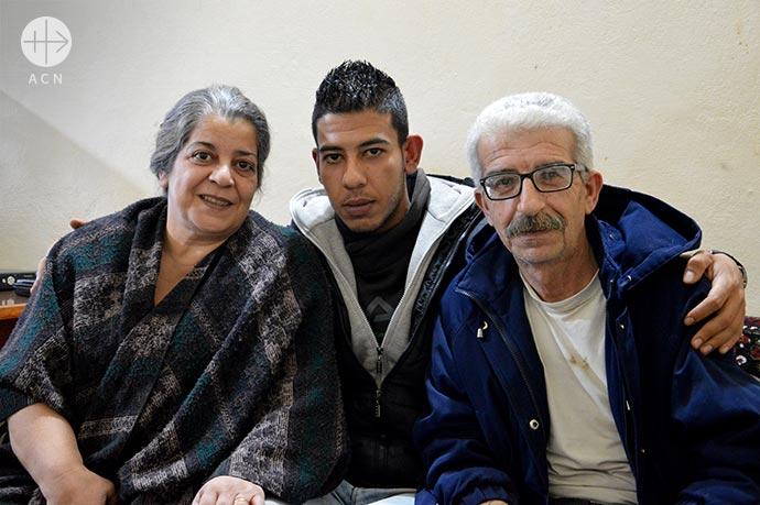 Nahila, Gabi and Marwan Mussa