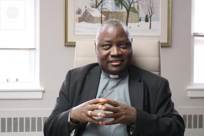 Most Rev. Ignatius Ayau Kaigama (Archbishop of Jos, Nigeria) during his visit to Canada